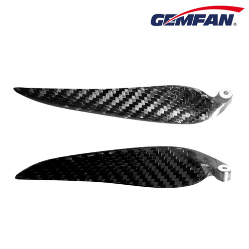 12inch 2 pcs 12x8 ccw carbon fiber folding props for fpv drone racing