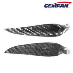 9.5X5 inch ccw carbon fiber folding blade props for rc plane
