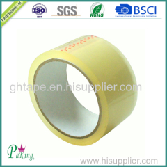 BOPP Film Packing Tape with Brown/ Yellow Acrylic Adhesive