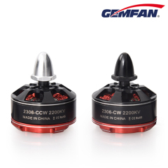 2306 2200KV Brushless Motor CW and CCW for Mini Quadcopter Multicopter