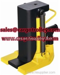 Hydraulic toe jack application and advantages