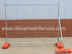 New Zealand galvanized 2100*2400 mm temporary fence panel