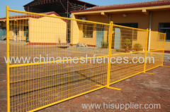 powder coated Canada temporary fence PVC coated Canada temporary panel