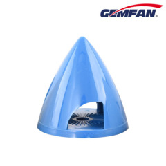 45mm Spinner Plastic Gemfan Fairing Blue Spinner for RC Aircraft Planes