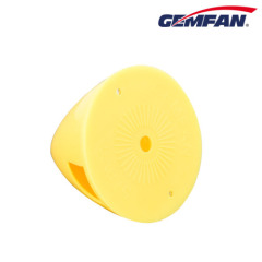 Remote Control Aircraft Plane Assembly Parts Propeller 57mm Plastic Backplate Nylon yellow Spinner