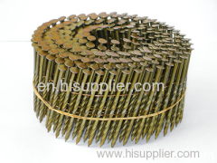 15/16 Degree Flat Top Wire Collation Galvanized Coil Nails