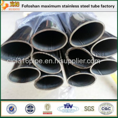 Europe Standard Construction Material Oval Steel Tubing Stainless Steel Special Tube/Pipe