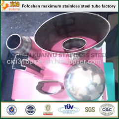 Construction Decoration Material Oval Tube Steel Stainless Steel Irregular Pipe
