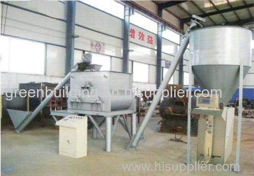 three -shaft powder mortar mixer