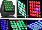 25pcs x 10W RGBW 4 in 1 LED Wash Moving Head For Wedding Party