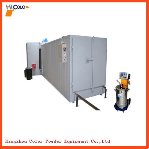 oil fired powder coating oven