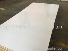 melamine FACED MDF.TITANTIUM WHITE HIGH GLOSSY MDF BOARD