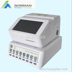 Rapid test quantitative immunoassay fluorescencnt analyzer