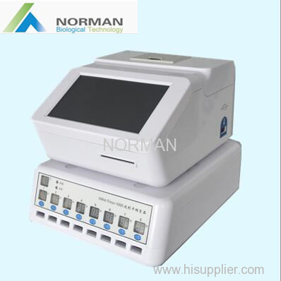 Medical diagnostic quantitative immunoassay analyzer