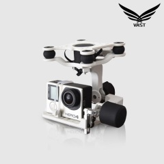 Brushless Gimbal Camera w/Motor&Controller forGopro 3 FPV Black