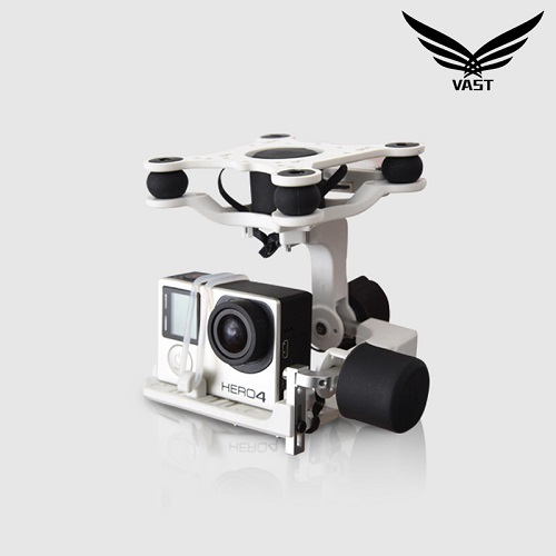 3D 3 Axis Brushless Gimbal for Gopro 4 Aircraft Helicopters