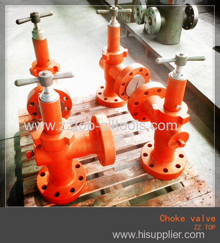 3 1/16  10k H2 choke valve for Oil wellhead