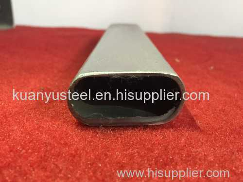 Foshan 316 stainless steel flat sided oval tube price per ton