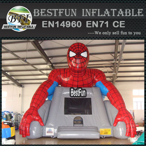 New spiderman trampoline inflatable bounce