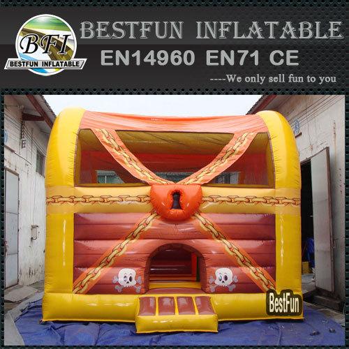 Pirate Treasure Games Inflatable Bouncing Castles