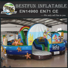 Bounce House Inflatable Jumper Child Playground