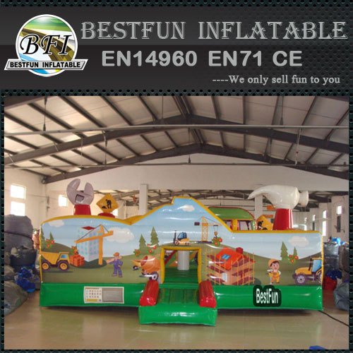 Little Builders inflatable playground