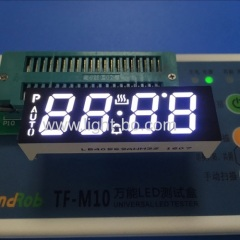 oven timer; white oven 7 segment ; white led display; white timer ;