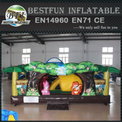 Inflatable indoor soft play camping equipment