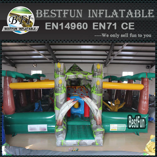 Jurassic park inflatable amusement game