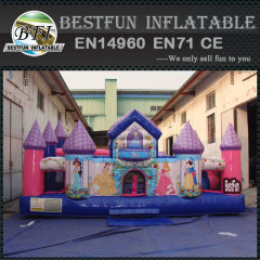 Disney Princess Castle Inflatable Playground