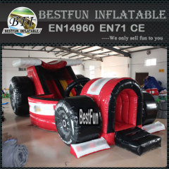 Classic formula car inflatable slide