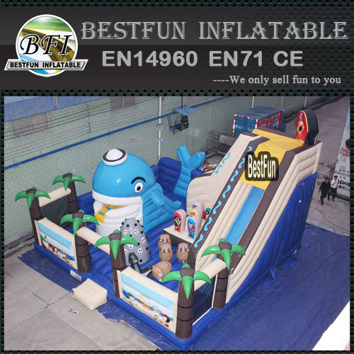 Pirate ship giant amusement park