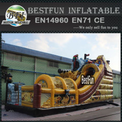 Pirate theme inflatable Activity Kingdom