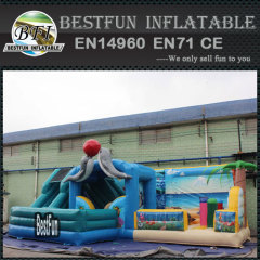 Sea world inflatable fun city