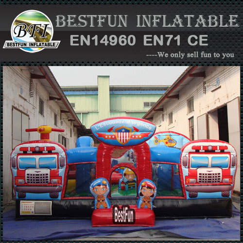 Inflatable Rescue Squad funcity playground