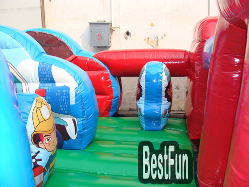 Toddler Rescue Squad Inflatable indoor playground