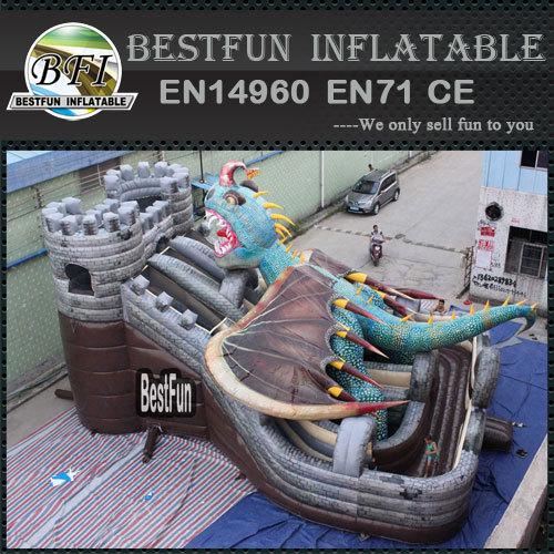 Dragon Attack Castle Giant Slide