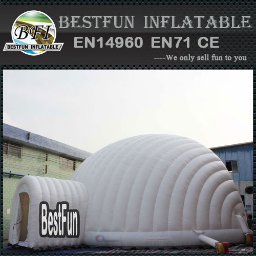 White igloo event tent for sale