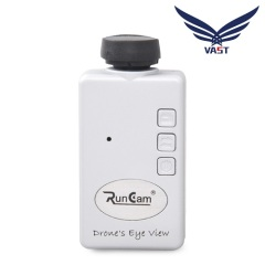 Quadcopter action sport camera micro espion Runcam HD for UAV
