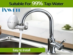 Tap water purifer with actived carbon