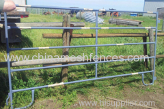Round Pens 5Bar Galvanized Traveling Corrals