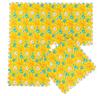 eco-friendly colorful PE film laminated eva jigsaw foam mat