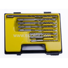 SDS plus Shank Hammer Drill Set 8pcs