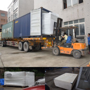 Powder Coating Booth & Oven Loading From Our Factory to Switzerland