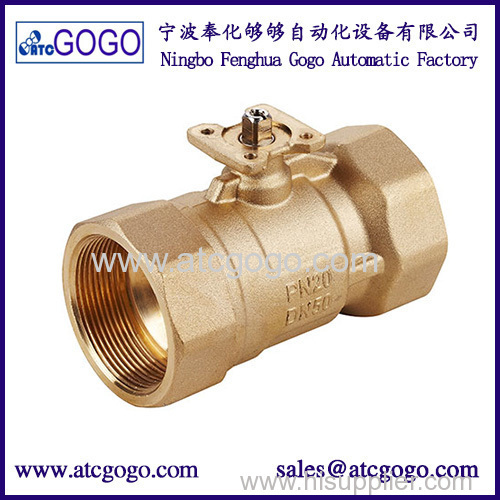 2 way or 3 way 4-20ma proportional flow control valve for HVAC system