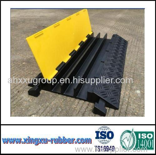 traffic road safety rubber cable protector