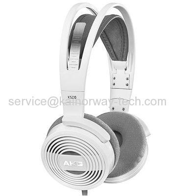 New AKG K520 Semi-Open On-Ear Headband Headphones White From China Supplier