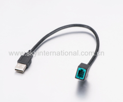 Installation Access USB Male Retention cable for 13-UP Mazda Vehicles