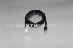 AUX cable for Nissan 8PIN to 3.5mm car audio cable