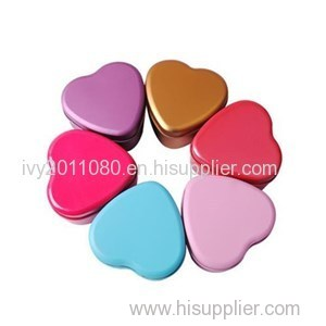 Heart Tin Packaging Boxes